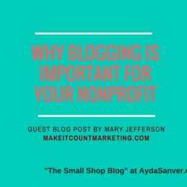 Why Blogging Is Important For Nonprofits